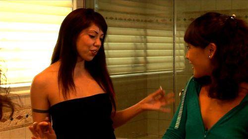 Asian lesbians Satine Phoenix & Jandi Lin