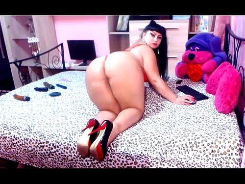 Big Ass Latina Anal Solo