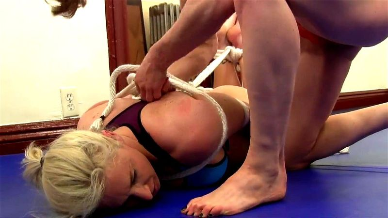 Bondage Blonde Fuck Slave