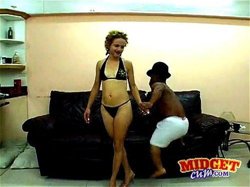Teen Latina fuck black midget 3
