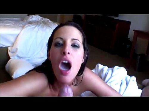 Kortney Kane blowjob and swallows cum.