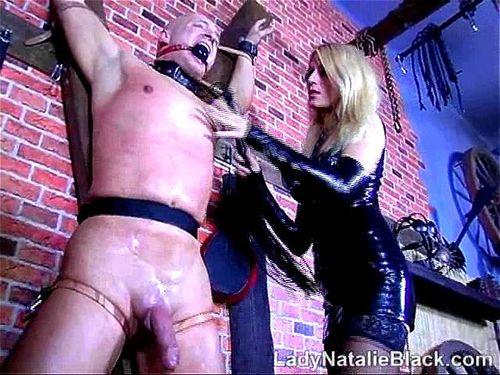 ordeño electro-prostático femdom