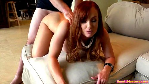 Cougar woman sucking cock