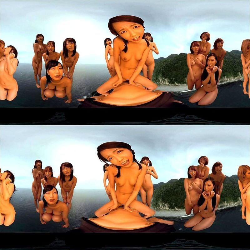 【VR】どっちを向いてもセクシー女優ハーレム展開<篠田ゆう 推川ゆうり 跡美しゅり 宮崎あや 椎名そら 桜木優希音>