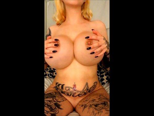 Huge Natural Hanging Tits