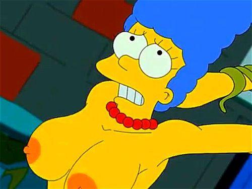 Marge Simpson porno
