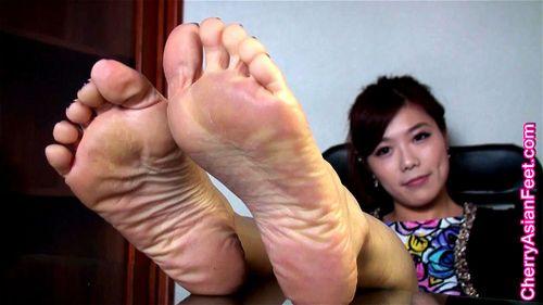 Asian Foot Worship Porn watch cherry asian feet - natalia 01 - cherry asian feet