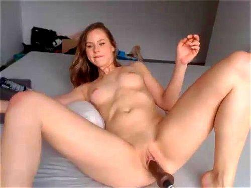 Hot Girl Fucking Machines