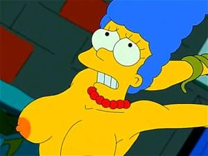 Boobs marge simpson Marge Simpson