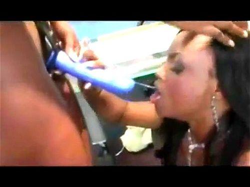 Amateur Ebony Lesbian Tribbing