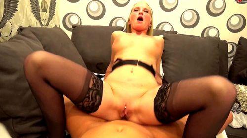 blond milf anal