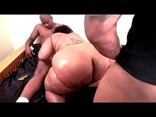 Ebony Bbw Big White Dick