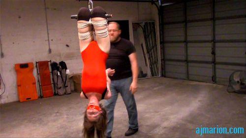 Bondage upside down