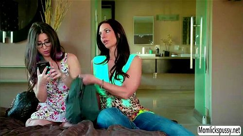 Daughter mom seduce He touches