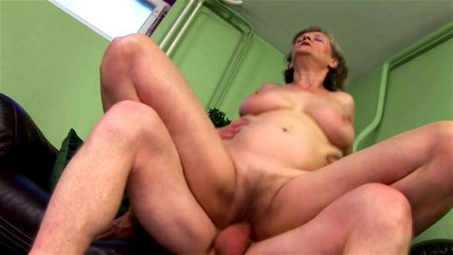 Shemale Jerks Her Huge Cock