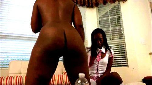 Lesbian Double Dildo Big Ass