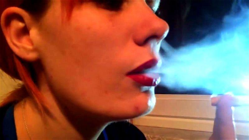 Pornstar Smoking After Sex
