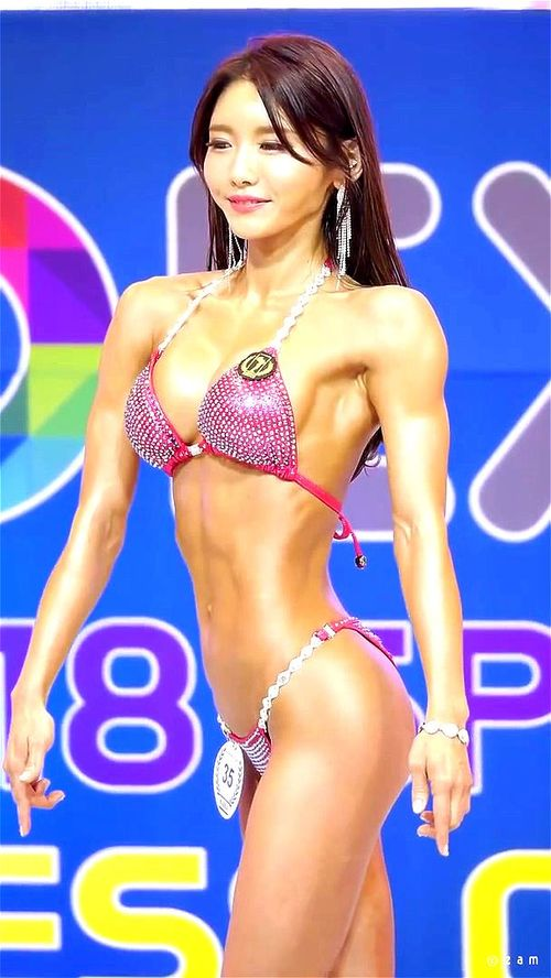 Understand this fitness bikini asian congratulate, what necessary
