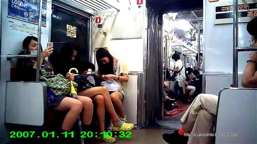 Watch 電車 対面パンチラ - 対面 パンチラ, Amateur, Fetish, Japanese, Teen, 素人