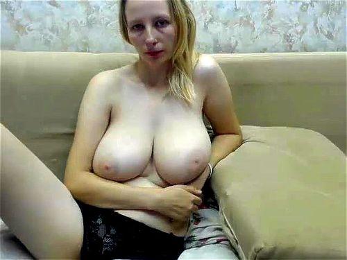 Sexy Blonde Big Tits Ass