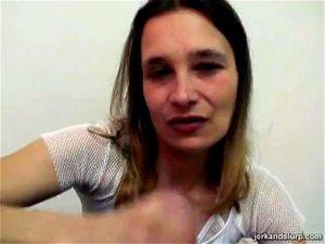 Blondine Blowjob Deutsche Milf German Latex