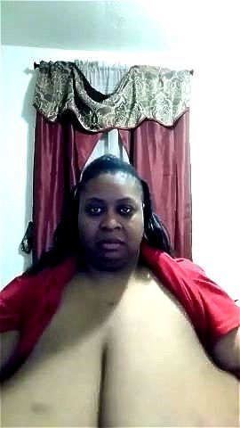 Ebony Big Tits Fucks White Guy