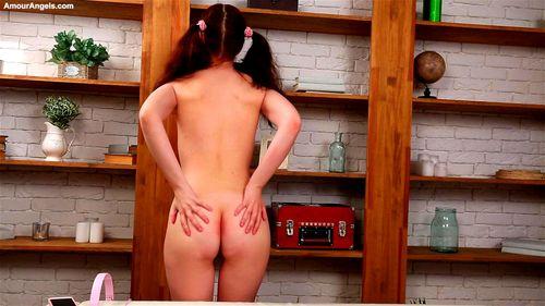 AmourAngels - Kim - Presenting Kim - Amourangels, Amourangels - Kim, Small Tits, Solo, Striptease, Teen Porn