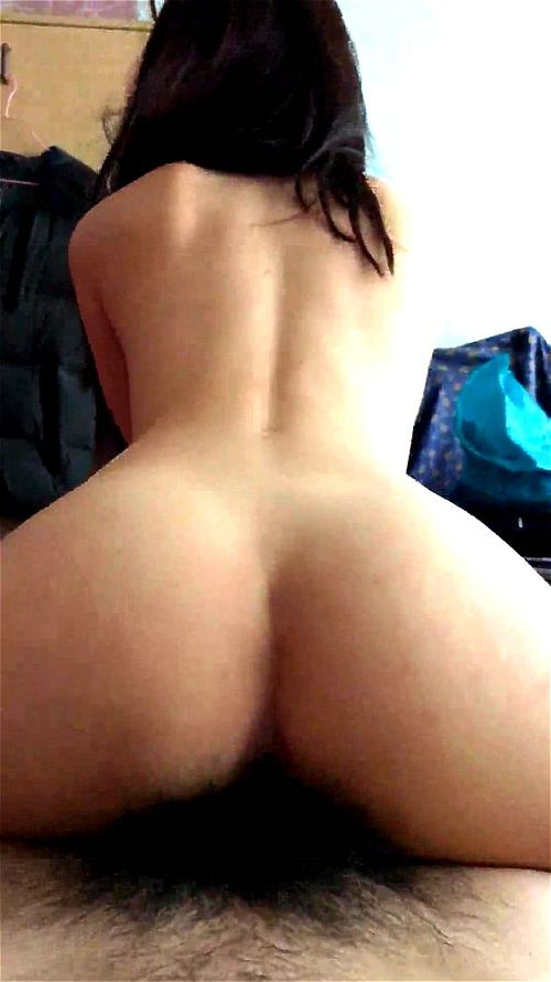 Asian Reverse Cowgirl Pov