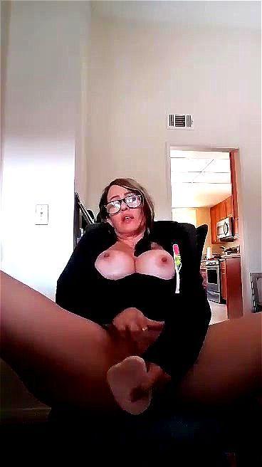 Dildo Pussy Play Masturbating