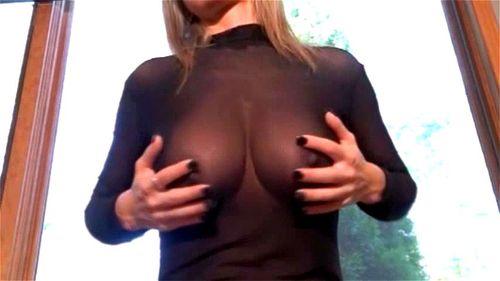 Blonde Big Tits Cowgirl Pov