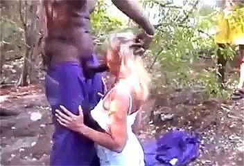 black girl anal gangbang