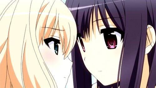 """その花びらにくちづけを""""あなたと恋人つなぎ - Japanese, Lesbian, Anime"""