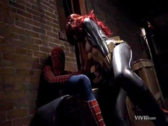 Spiderman blowjob
