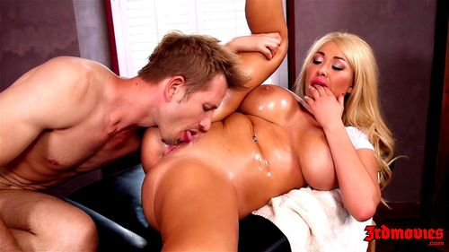 Summer Brielle fucked on a massage table 1080p