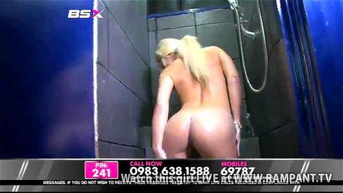 Lesbian shower zara