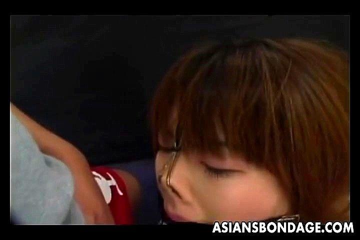 Asian Ladyboy Cum Mouth