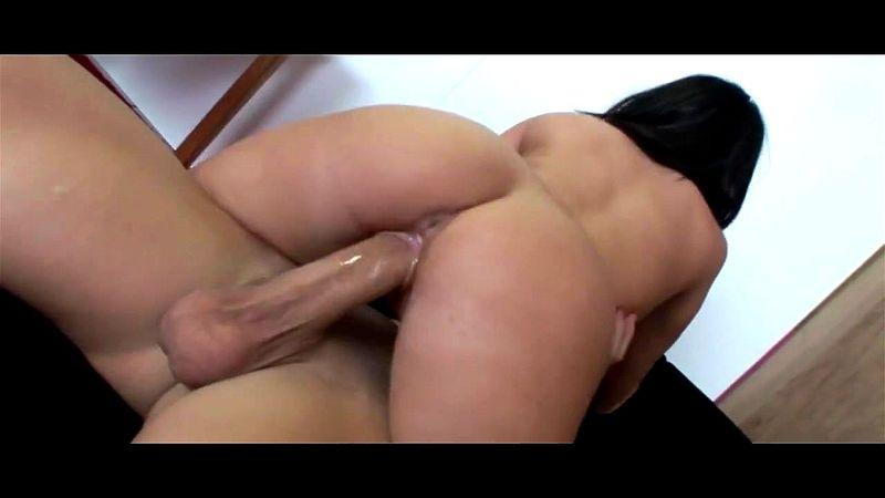 Bubble Butt Monster Cock Anal