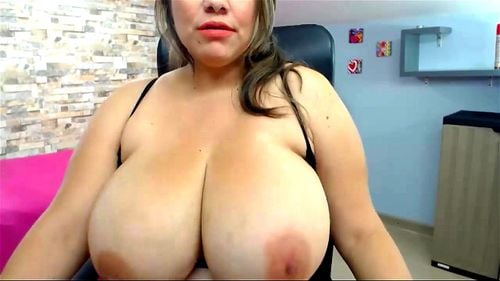 Huge Natural Tits Webcam Fuck