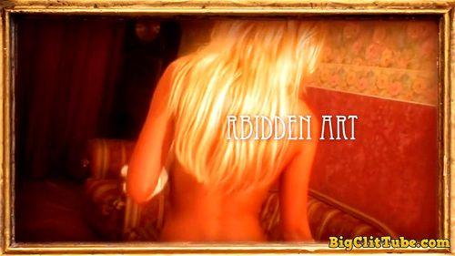 Dasha L-Forbidden Art - Babe, Blonde, Pussy, Babes, Big Pussy Lips Porn
