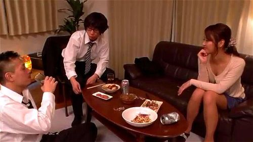 My Wife Was Taken Down As A Licking Man In My Company S Kissing Subordinate. Wakana Nao