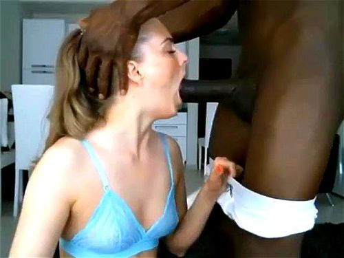 Ebony Deep Throat Cum Swallow