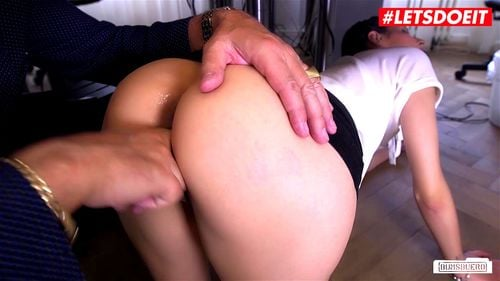 Bang front in coco of kiss camera brunette sexy hard accept