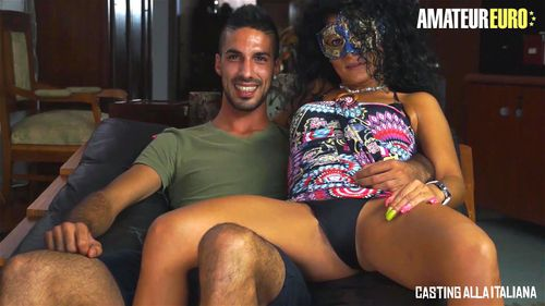 Backroom Casting Couch Latina