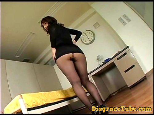 Japanese Girl White Panties