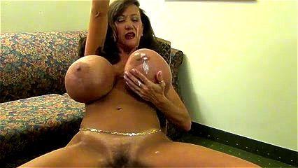 Round tits porn big Old Women