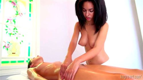 Watch Hegre Art Massage - Kiki Lamont, Babe, Brunette, Fetish, Lesbian, Massage