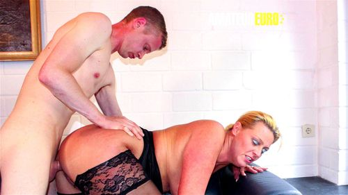 AMATEUR EURO - German Amateurs Fucks On Cam For The First Time - Reife Swinger, German Mature, Amateur, Bbw, Big Dick, Big Tits Porn