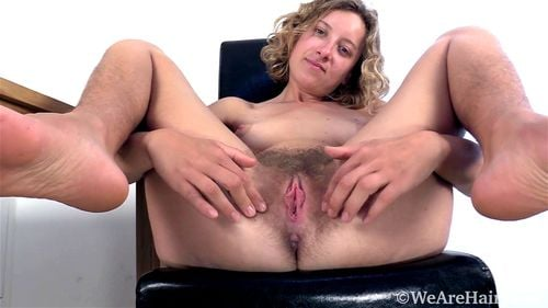 Hairy Blonde Teen Wants You To Watch, Solo - Hairy, Manon, Wearehairy, Teens, Spreadeagle, Babe Porn