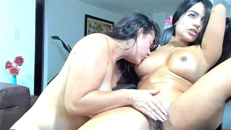 Real Latina Mother Daughter