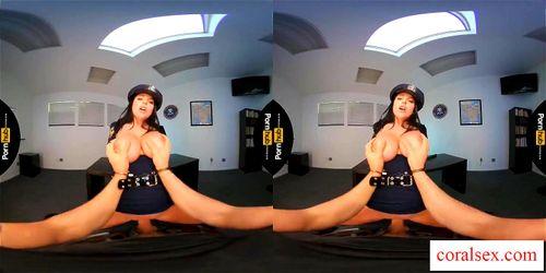 180 Porn watch vr 180 - australian cop angela white interrogates will